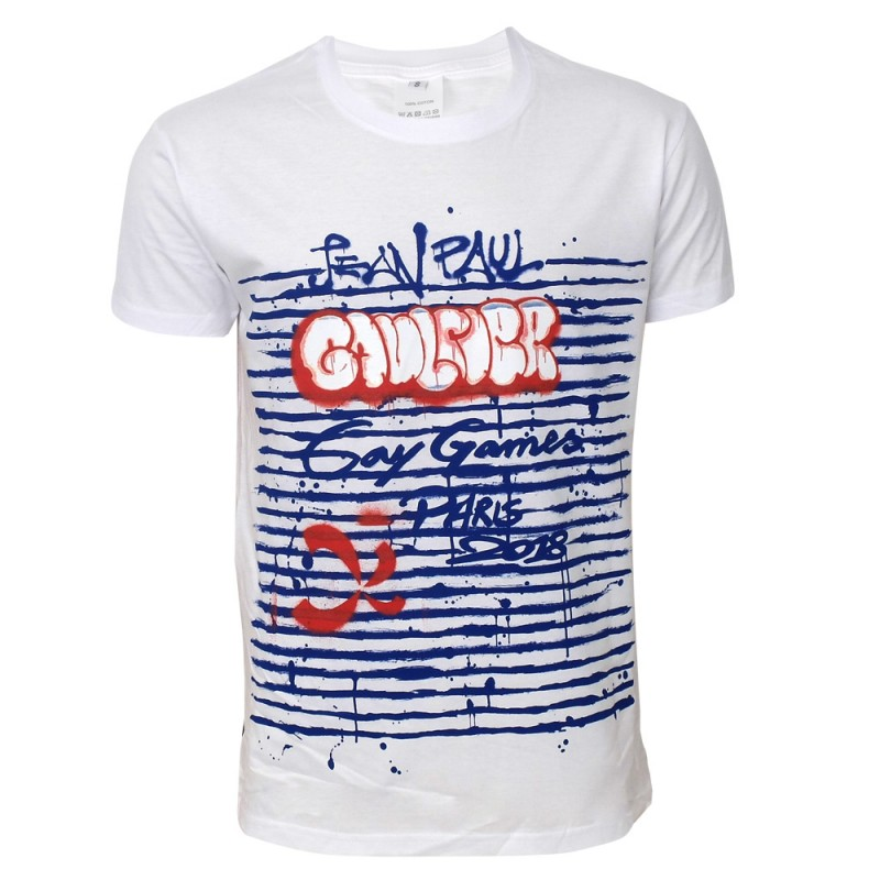 T-shirt Jean Paul Gaultier per Gay Games Paris 2018